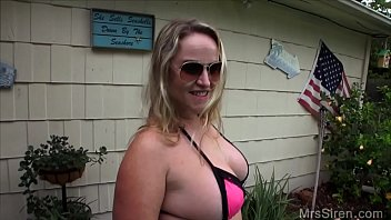 Wife Fucks Her Boytoy by the Pool Preview