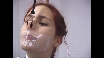 Streaming Video Glamour model Gabby gets in over her head and ends up at the end of a rope naked - 3gp