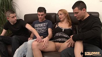 Julia wants to fulfill her fantasy with three young people