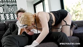 Private.com - Young Teen Maid Mia Navarro Pleases Her Master