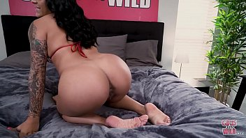 GIRLS GONE WILD - The Hostess With The Mostest, Mia Martinez, Plays With Herself