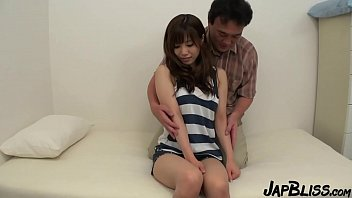Incredible Japanese Model Receives A Creampie