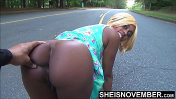 Nude fondles self - For my low self esteem i let a stranger fondled my ass in street, shy ebony msnovember public exposure on sheisnovember