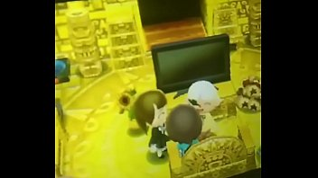 Threesome with my gf and her friend in Animal Crossing.