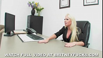 Britney and kevin porn stills Wild job interview