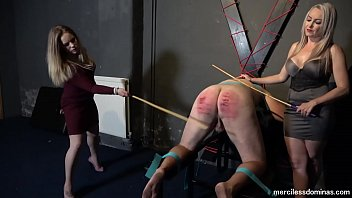 Girl bare bottom spanking videos - 50 hard strokes - stop your snivelling, slave