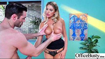Hot Slut Office Girl (August Ames) With Big Boobs Bang Hardcore movie-06