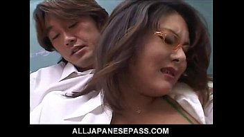 Horny Japanese Teacher Learns A Lesson Herself About Pussy Pounding