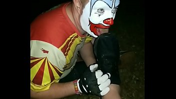 Clown Worshiping Size 12 Muddy Shoes