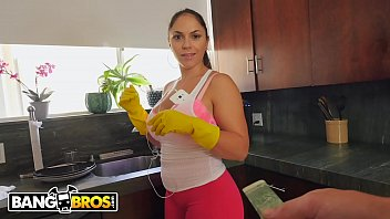 BANGBROS - My Housekeeper's Got A Latin Big Ass That Drives Me Loco, Man