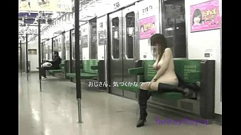 Jap train public sex Public train