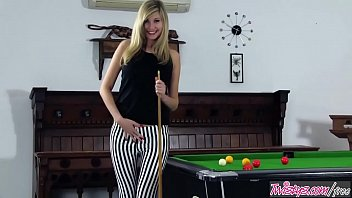 Twistys - (Holly Anderson) starring at Pool Table Naughtyness