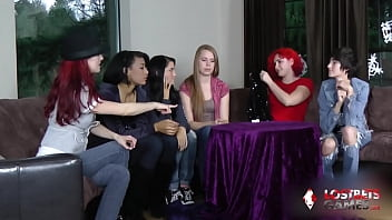 Kandie, Kamora, Sassy, Mary, Ariel, and Isis Get wild in a game of Strip Estonian Roulette