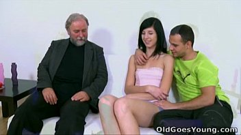Old Goes Young - Alisa Gets To Learn How Top Suck Cock Properly From Her Old Guy