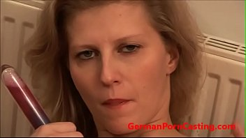 Slim German MILF During Casting - GermanPornCasting&period