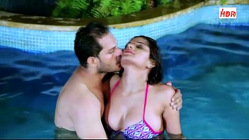 Shruti Bhabhi in Pool with Boss