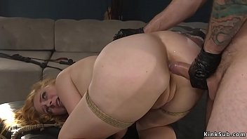 Tight ass busty wife anal bdsm banged