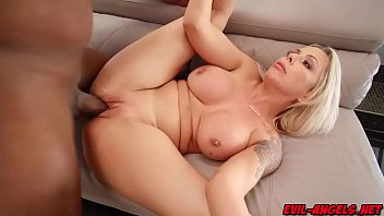 Sexy big tits milf gets screwed like a spreadeagle!
