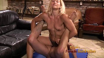 Elsie suttons female domination pdf Blonde jerks and pulls on cock
