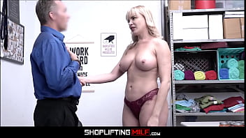 Big Tits PAWG MILF Dana Dearmond Caught Shoplifting Baby Food Fucked By Officer