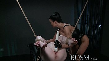Adult erotic xxx - Bdsm xxx subs are tired and suspended before magic wand treatment