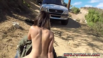 Linares cop and police foursome Latina Babe Fucked By the Law