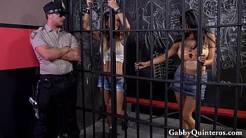 JailHouse Cock with Gabby Quinteros