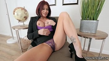 Step mom catches duddy' companion jacking off and college milf xxx