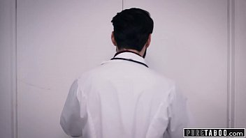 PURE TABOO Fertility Doctor Creampies Desperate Woman In Front Of Husband [병원 hospital]