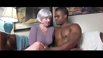 mom with young black stud