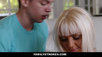 FamilyStrokes - Hot Step-Mom Fucked After Workout