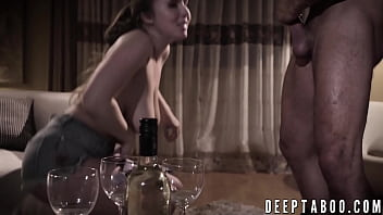 Sinful Lena Paul fucks a guy while his wife watches them