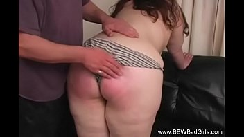Girl spanked video Spank that fat housewife ass