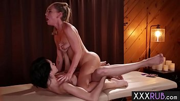 Hot babes enjoyed passion body massage and fingering