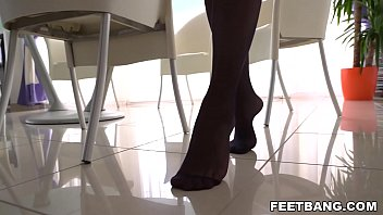 She thinks legs and feet are her most erotic zones - Kelly Slot, Charlie Dean