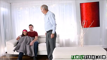 Stepsister Fucked In Front Of Grandpa thumbnail