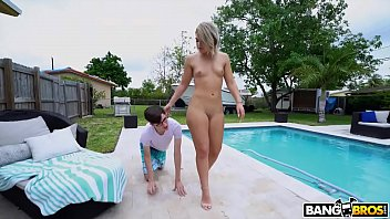 Special k bikini parade Bangbros - rharri round showing her big ass off by the pool, catches archie stones attention