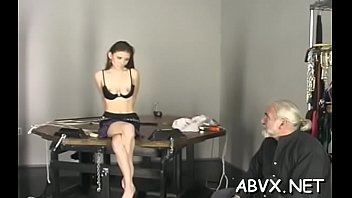 Stupendous lady decided to show her erotic snatch