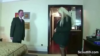 German Hot Teen Hooker Fuck with old Man in Hotel