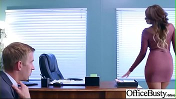 (Cassidy Banks) Office Girl With Round Big Boobs Enjoy Hard Sex movie-10