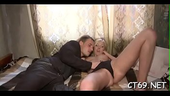 Concupiscent bitch enjoys riding on top of an erected thick cock