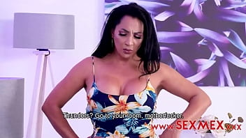 GALI DIVA - HER STEP-SON IS SCARED OF THUNDERS