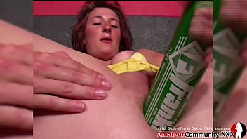 Horny skank stretches her pussy with huge toys! AMATEURCOMMUNITY.XXX