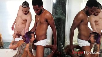 Asian Slut Blacked Out With Gangbang- Donny Sins