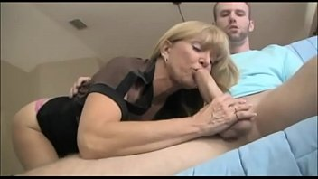 Milf Decides To Better His Cum Release thumbnail