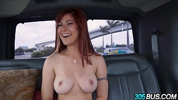 Big tit redhead begs for anal threesome 2.2