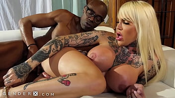 GenderX - Nadia Love Takes A Massive BBC To Avoid Jail Time