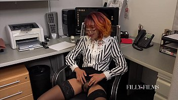 When The Office Is Empty These Two Girls Love To Make Each Other Cum 17 min