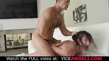 Anal cock whore destroyed by huge cock! (Rocco Siffredi , Angela White)