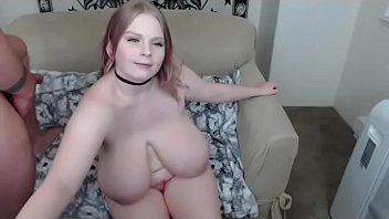 massive boobs lady can not cum without big cock in her mouth